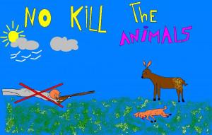 Stop à la destruction des animaux