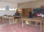 Salle des professeurs vue de l'intérieur